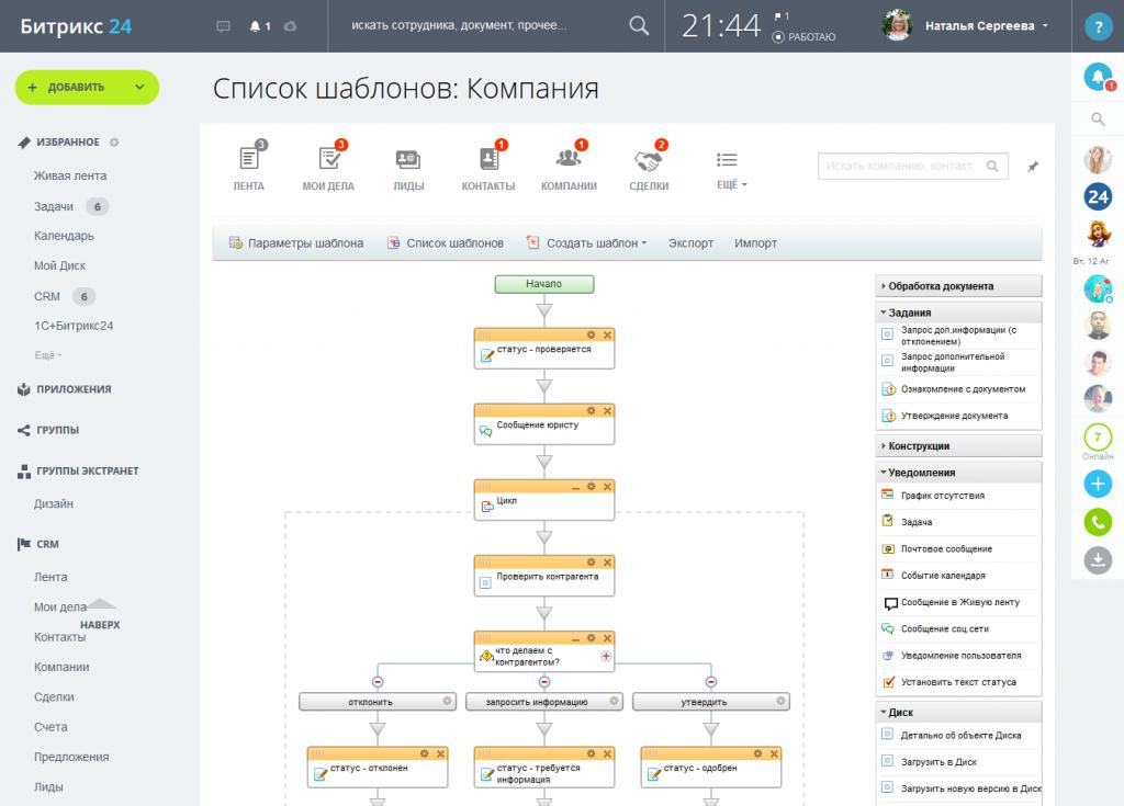 Битрикс бизнес процессы запрос дополнительной информации как создать шаблон в битрикс 24